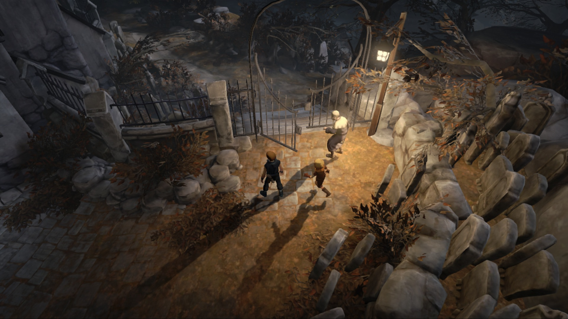 Brothers Tale Two Sons